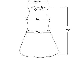 Rosalind Ruffle Silk Midi Dress size measurements